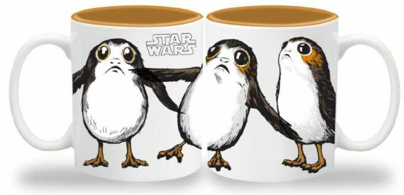 Star Wars Episode VIII Tasse Porgs