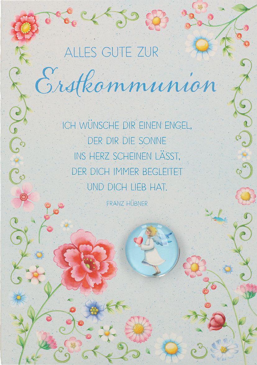 Sprüche Zur Kommunion Karte Erstkommunion 2019 11 22